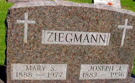 ZIEGMANN, JOSEPH & MARY S. - Sac County, Iowa | JOSEPH & MARY S. ZIEGMANN
