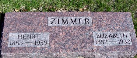 ZIMMER, HENRY & ELIZABETH - Sac County, Iowa | HENRY & ELIZABETH ZIMMER