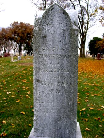 ZIMMERMAN, ELIZA B. - Sac County, Iowa | ELIZA B. ZIMMERMAN