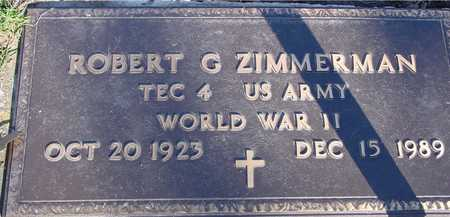 ZIMMERMAN, ROBERT G. - Sac County, Iowa | ROBERT G. ZIMMERMAN