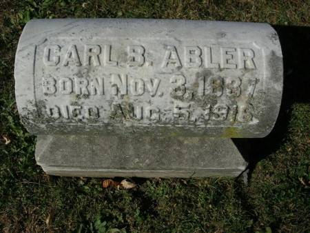ABLER, CARL B. - Scott County, Iowa   CARL B. ABLER