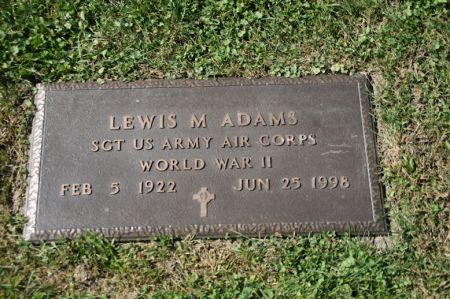 ADAMS, LEWIS M. - Scott County, Iowa | LEWIS M. ADAMS