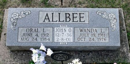 ALLBEE, ORAL I. - Scott County, Iowa | ORAL I. ALLBEE