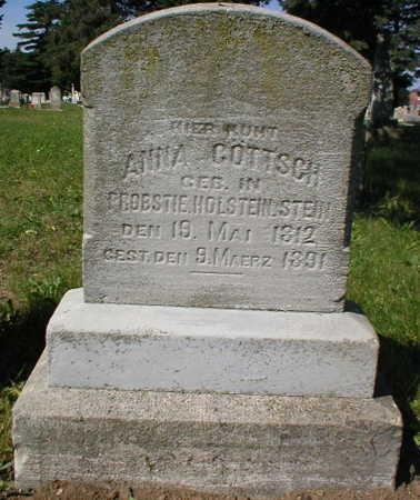 ANNA, GöTTSCH - Scott County, Iowa | GöTTSCH ANNA