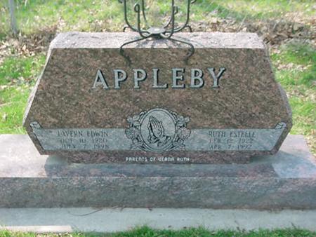 APPLEBY, RUTH ESTELLE - Scott County, Iowa | RUTH ESTELLE APPLEBY