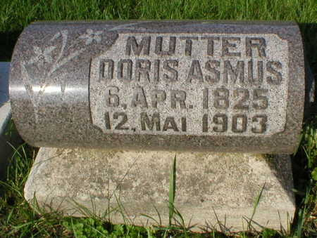 ASMUS, DORIS - Scott County, Iowa | DORIS ASMUS