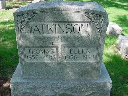 ATKINSON, ELLEN - Scott County, Iowa | ELLEN ATKINSON
