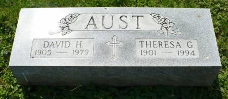 AUST, THERESA G. - Scott County, Iowa | THERESA G. AUST