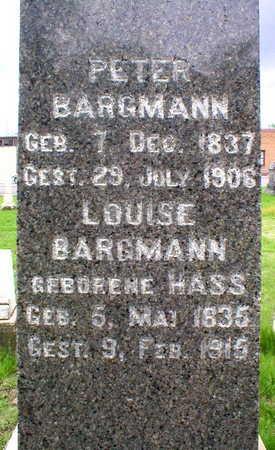 BARGMANN, LOUISE - Scott County, Iowa | LOUISE BARGMANN