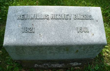 BARRIS, WILLIS HERVEY - Scott County, Iowa | WILLIS HERVEY BARRIS