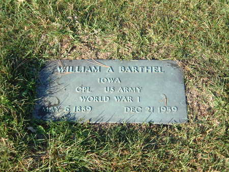 BARTHEL, WILLIAM - Scott County, Iowa | WILLIAM BARTHEL