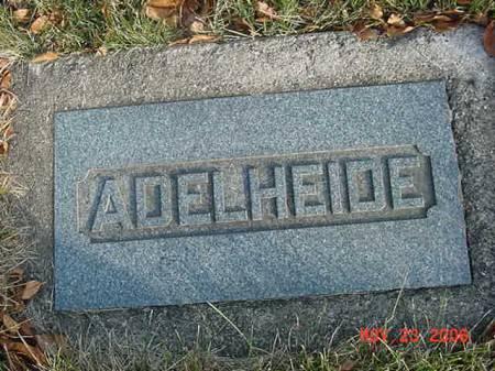 BAUGHMAN, ADELHEIDE - Scott County, Iowa   ADELHEIDE BAUGHMAN