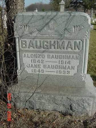 BAUGHMAN, ALONZO - Scott County, Iowa | ALONZO BAUGHMAN