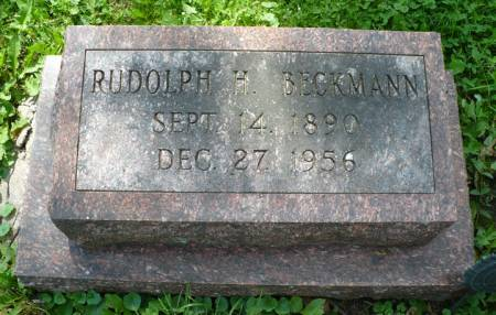 BECKMANN, RUDOLPH H. - Scott County, Iowa | RUDOLPH H. BECKMANN