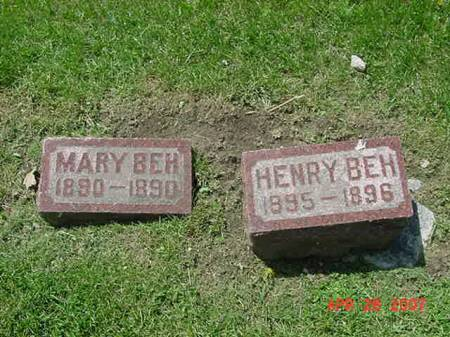BEH, HENRY - Scott County, Iowa | HENRY BEH