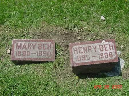 BEH, MARY - Scott County, Iowa | MARY BEH