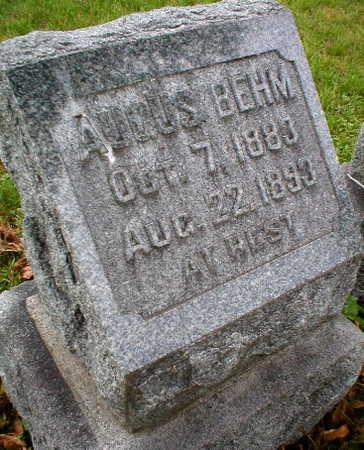 BEHM, AUGUST - Scott County, Iowa | AUGUST BEHM