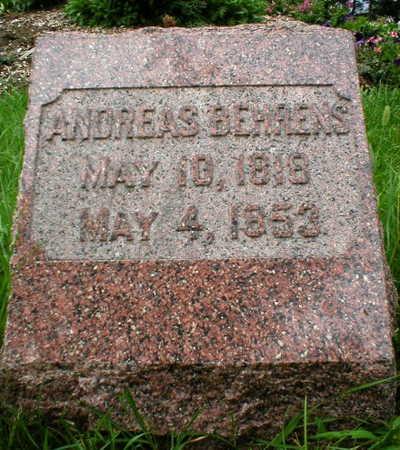BEHRENS, ANDREAS - Scott County, Iowa | ANDREAS BEHRENS