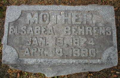 BEHRENS, ELSABEA - Scott County, Iowa | ELSABEA BEHRENS
