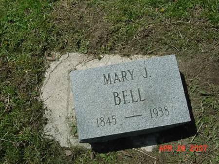 BELL, MARY J - Scott County, Iowa   MARY J BELL