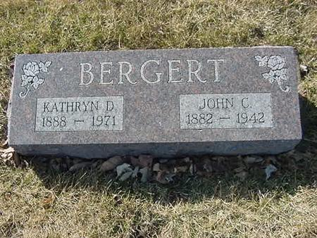 BERGERT, JOHN C - Scott County, Iowa | JOHN C BERGERT