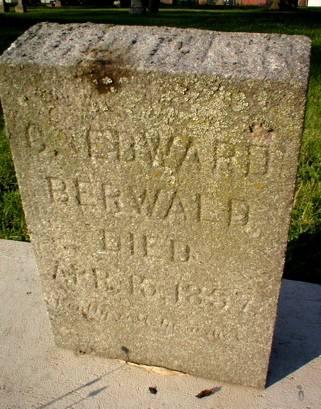 BERWALD, C. EDWARD - Scott County, Iowa | C. EDWARD BERWALD