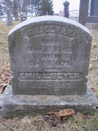 BEYER, EMIL L. - Scott County, Iowa | EMIL L. BEYER