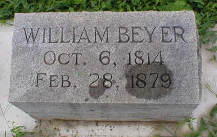 BEYER, WILLIAM - Scott County, Iowa | WILLIAM BEYER