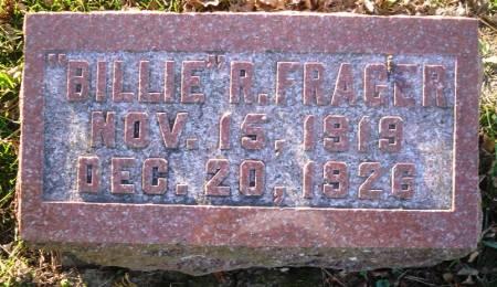 FRAGER, BILLIE R. - Scott County, Iowa | BILLIE R. FRAGER