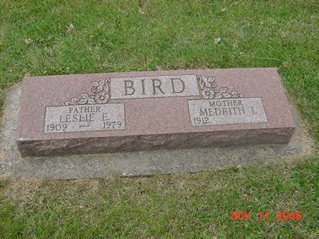 BIRD, LESLIE E - Scott County, Iowa | LESLIE E BIRD