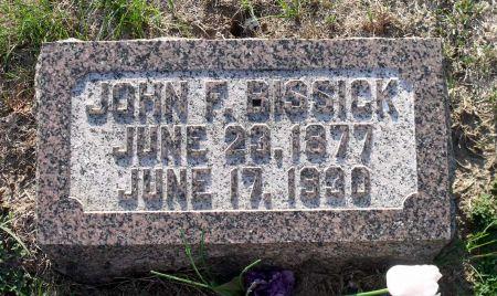 BISSICK, JOHN F. - Scott County, Iowa | JOHN F. BISSICK