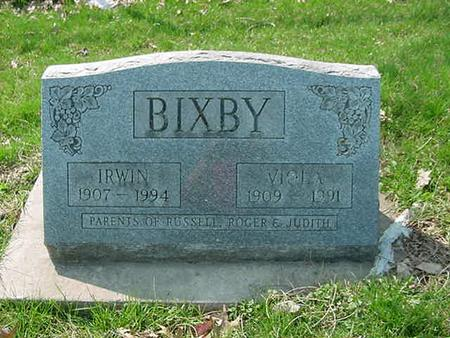 BIXBY, IRWIN - Scott County, Iowa | IRWIN BIXBY