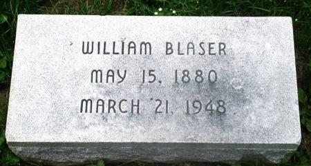 BLASER, WILLIAM - Scott County, Iowa   WILLIAM BLASER