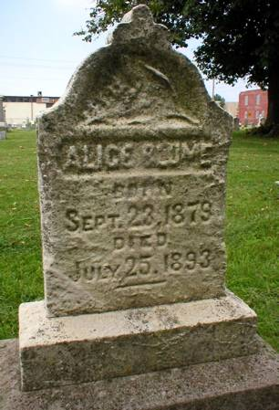 BLUME, ALICE - Scott County, Iowa | ALICE BLUME