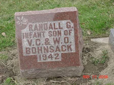 BOHNSACK, RANDALL G - Scott County, Iowa | RANDALL G BOHNSACK