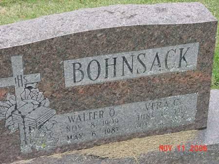 BOHNSACK, WALTER O - Scott County, Iowa | WALTER O BOHNSACK