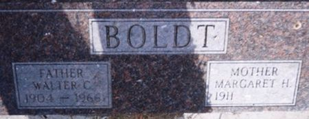 BOLDT, MARGARET H. - Scott County, Iowa | MARGARET H. BOLDT
