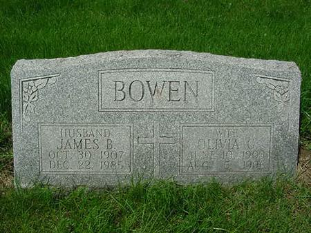 BOWEN, JAMES B - Scott County, Iowa | JAMES B BOWEN