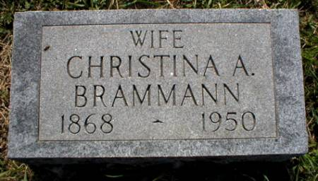 BRAMMANN, CHRISTINA A. - Scott County, Iowa | CHRISTINA A. BRAMMANN