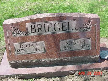 BRIEGEL, DORA L - Scott County, Iowa | DORA L BRIEGEL