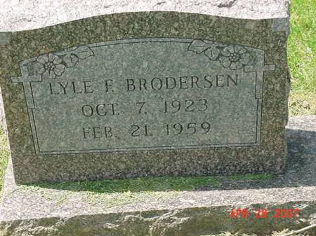 BRODERSEN, LYLE F - Scott County, Iowa | LYLE F BRODERSEN