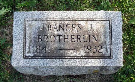 BROTHERLIN, FRANCES J. - Scott County, Iowa | FRANCES J. BROTHERLIN