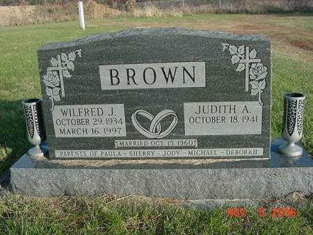 BROWN, WILFRED J - Scott County, Iowa | WILFRED J BROWN