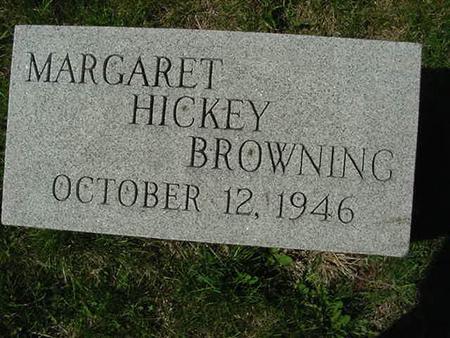 HICKEY BROWNING, MARGARET - Scott County, Iowa | MARGARET HICKEY BROWNING