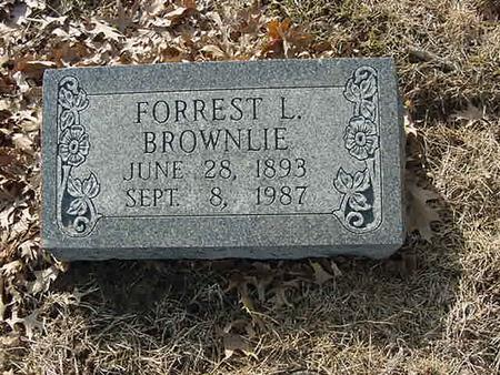 BROWNLIE, FORREST L - Scott County, Iowa | FORREST L BROWNLIE