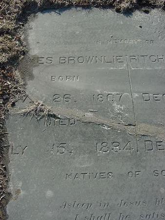 BROWNLIE, JAMES - Scott County, Iowa   JAMES BROWNLIE