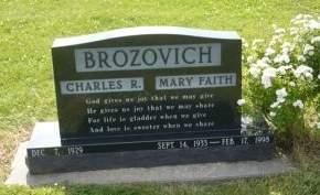 PROKSCH BROZOVICH, MARY - Scott County, Iowa | MARY PROKSCH BROZOVICH