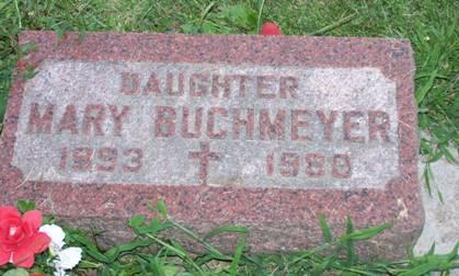 BUCHMEYER, MARY - Scott County, Iowa | MARY BUCHMEYER