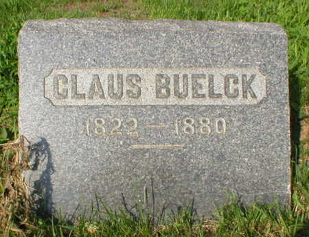 BUELCK, CLAUS - Scott County, Iowa | CLAUS BUELCK