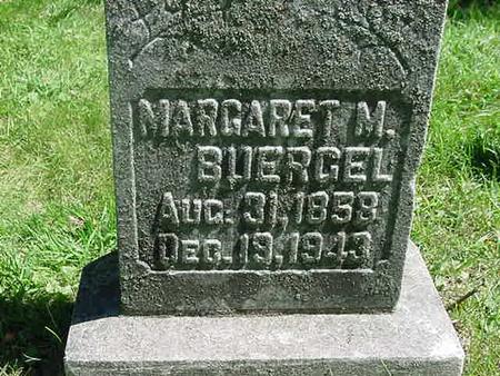 MINER BUERGEL, MARGARET - Scott County, Iowa | MARGARET MINER BUERGEL